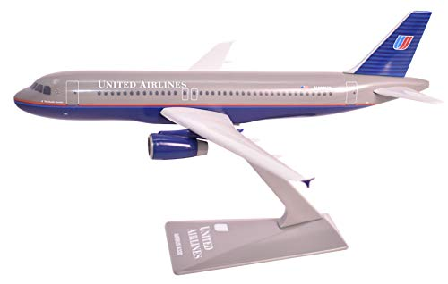 (United (93-04) Airbus A320-200 Airplane Miniature Model Plastic Snap Fit 1:200 Part# AAB-32020H-009)