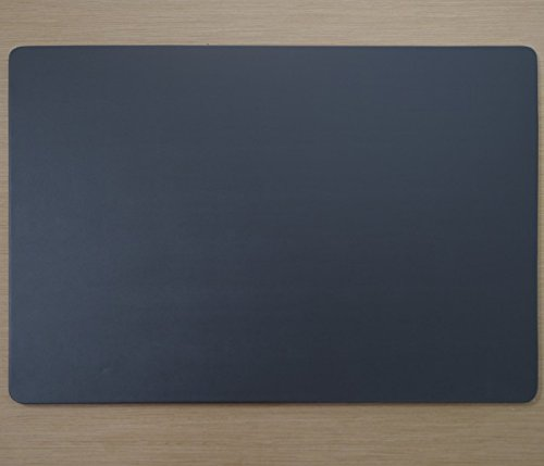Dacasso P4215 Gray Leatherette 17'' X 14'' Conference Table Pad Gray by Dacasso