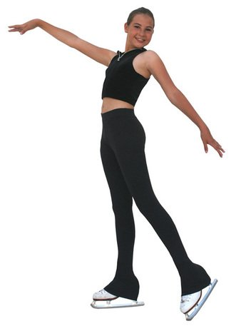 ChloeNoel P83 - Polar Fleece Figure Skating Pants by Polartec Black Child Extra Large/Adult Extra Small by ChloeNoel