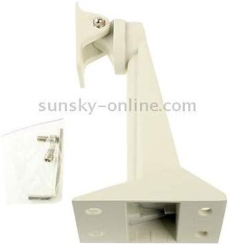 Load-Bearing: 15kg JY-208 White Color : White Adjustable Bracket Sturdy White CCD CCTV Camera Aluminum Mounting Bracket