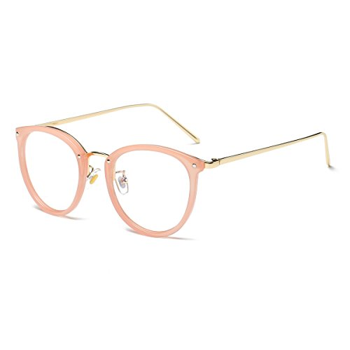 efd6c66d10 Amomoma Womens Fashion Clear Lens Round Frame Eye Glasses - Import It All