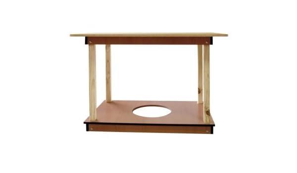 Mesa camilla rectangular DIACA: Amazon.es: Hogar