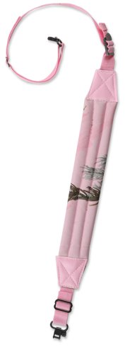 Deluxe Padded Sling Rifle (Bulldog Cases Pink APHD Camo Deluxe Padded 1-Inch Rifle Sling with Swivels)