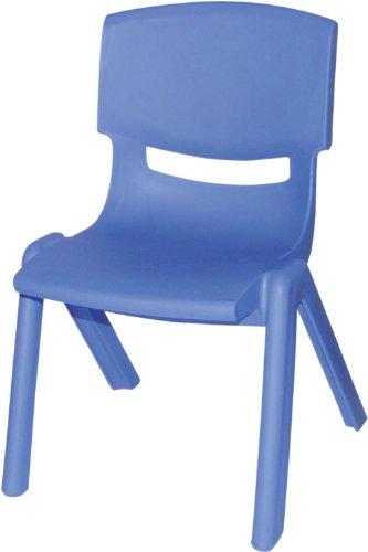 Bieco 04000003 - Kinderstuhl aus Kunststoff, blau
