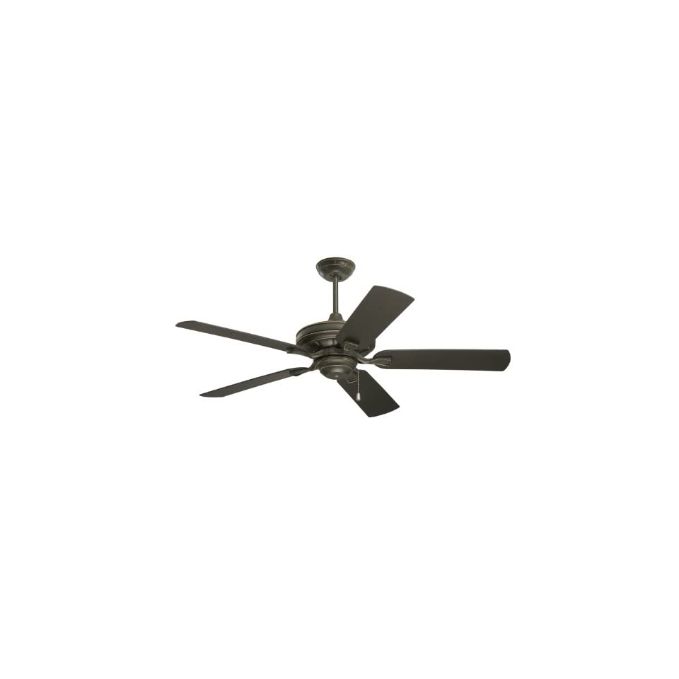 Emerson CF552GES Veranda Indoor/Outdoor Ceiling Fan, 52 Inch Blade Span, Golden Espresso Finish and All Weather Chocolate Blades