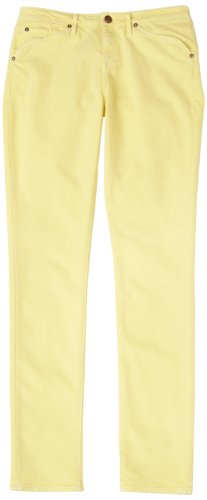 agave Women's Paloma Classic Fit Skinny Leg Jean,Yellow Cream,26