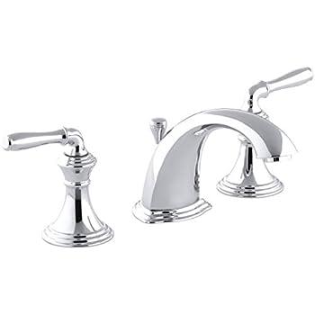 Kohler K 10577 4 Cp Bancroft Widespread Lavatory Faucet
