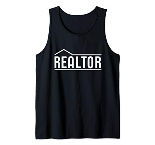 Realtor Real Estate Agent Business Tank Top (Be A Real Estate Agent Part Time)