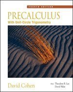 By David Cohen: Precalculus: With Unit Circle Trigonometry (with CD-ROM and iLrn Tutorial) Fourth (4th) Edition