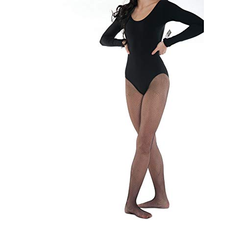 DanzNmotion by Danshuz Women's Seamless Tights M BLACK