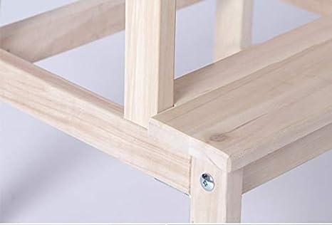 Sgabello nordic step sgabello in legno massello sgabello change