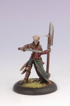 Iron Kingdoms Miniatures: Hyls Lyoros, Iosan Fighter