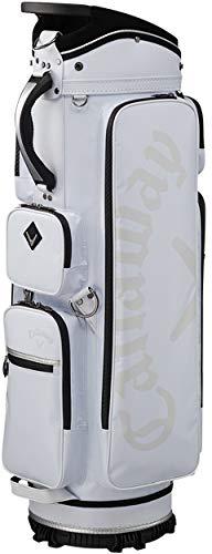 キャロウェイ(Callaway) キャディーバッグ FUGO キャディバッグ カートタイプ 2018年モデル メンズ 5118346 ホワイト   B07HY2BP2T