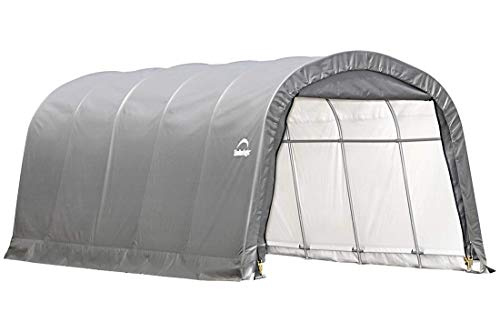 ShelterLogic Replacement Cover 12x20x8 Round Garage in a Box 90541 for Model 62780 (7.5oz ()