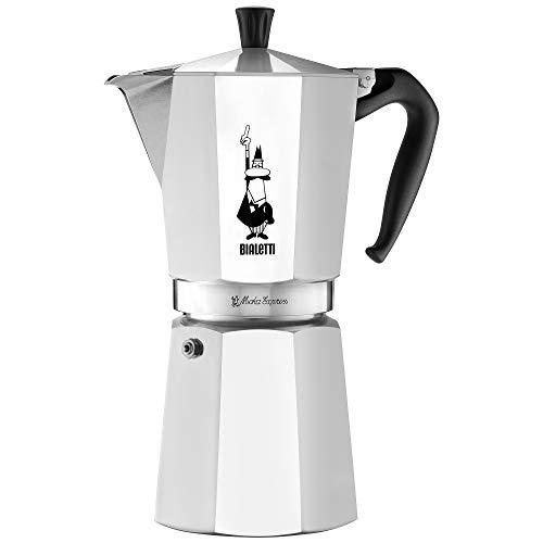 Bialetti 06853 moka Stovetop coffee maker, 12-Cup, Silver