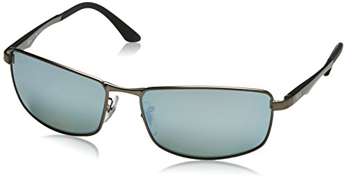 y4 Ray Matte Sunglasses ban Gunmetal Mm Polarized Rb3498 61 029 qHPR4wPFt