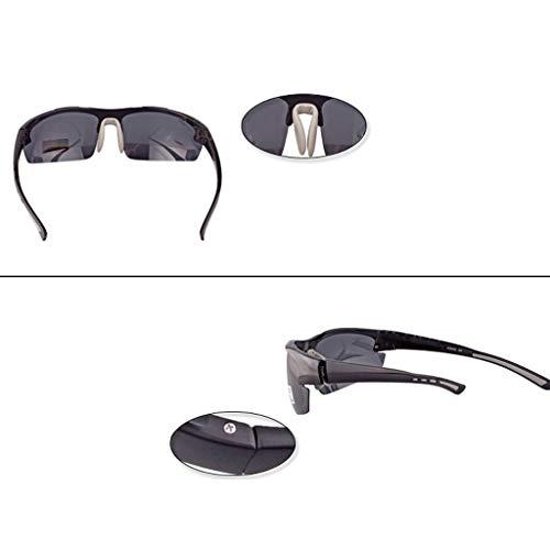 Gafas polarizadas Hombres Gray bambú Aire Senderismo Libre Color Montar Gafas conducción Gafas de Montañismo de Deportes Azul sol al para YaP40