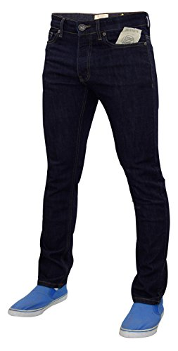 Skinny In Uomo Motivo Blue Stretch Modello Cotone Fit pantaloni Denim Chino Enzo Slim Jeans wIPIrq1