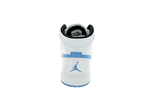 Nike Air Jordan 1 Mid White Youths Trainers - 554725-127