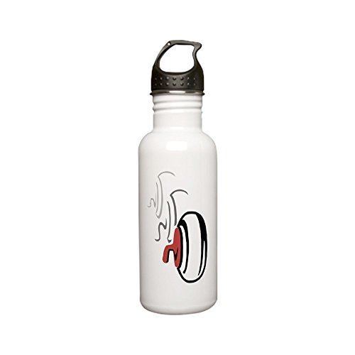 CafePress - Curling Rocks Stainless Water Bottle 0.6l - Stainless Steel Water Bottle, 0.6L Sports - Curling Rocks