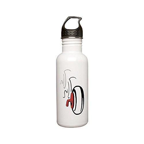 CafePress - Curling Rocks Stainless Water Bottle 0.6l - Stainless Steel Water Bottle, 0.6L Sports - Rocks Curling