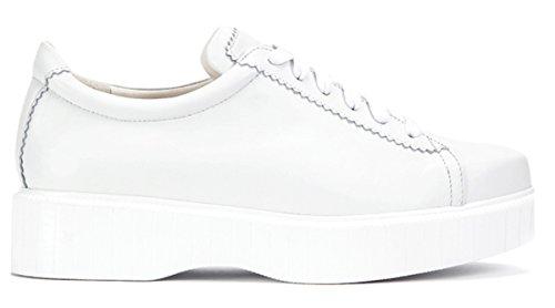 Blanc Occasionnel Robert Clergerie Chaussures Avslappnad duqaG