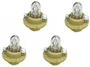 For BMW E31 E32 E34 E36 Bulb for Dashboard Instruments Black Socket Base