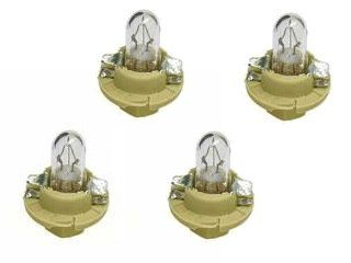 BMW instrument cluster Bulb 1.5w Beige Socket Base (x4)