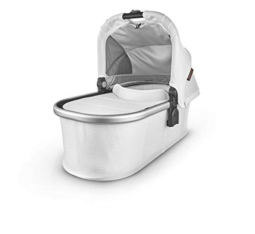 Bassinet – Bryce (White Marl/Silver/Chestnut Leather)