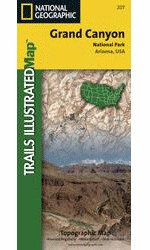 Trails Ill. Grand Canyon Natl Park