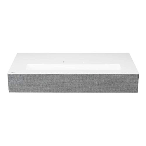 LG HU85LA Ultra Short Throw 4K UHD Laser Smart Home Theater CineBeam Projector with ThinQ AI and Google Assistant (Best Ultra Short Throw Projector 2019)
