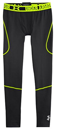 Under Armour Boys' UA ColdGear Infrared Multiplier Legging Black / Reflective 002 XL
