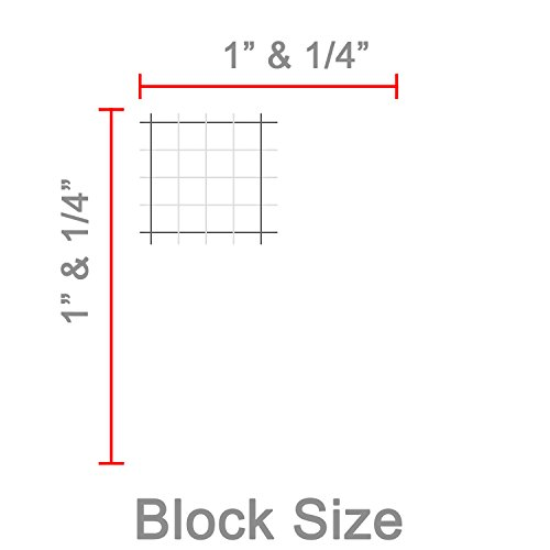 low cost 24 x 36 large wet erase graph paper 1 4 laminated