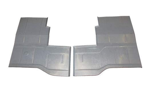Classic 2 Current Fabrication 1976-96 Jeep CJ-5, CJ-7, CJ-8 & YJ Wrangler Rear Floor Pans (Pair) (Classic 2 Current Fabrication)