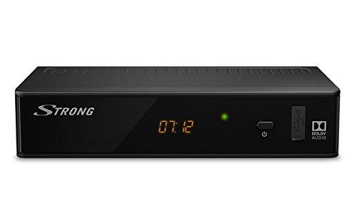 Strong SRT 8211 Terrestrial Receiver- Reproductor/sintonizador terrestre HDTV para DVB-T2 y