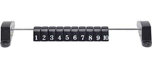 (Imperial Foosball/Soccer Game Table Accessory: Abacus Scoring Marker, Black, Pack of 1)