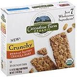 Cascadian Farm Organic Crunchy Peanut Butter Granola Bars - 10 CT