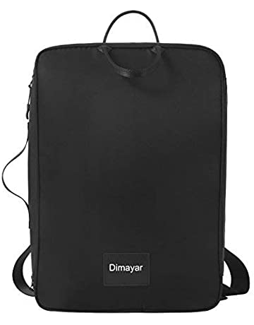 51ad45230a Travel Backpack by Dimayar Water Resistant Traveling Backpack for Men    Women Lightweight Slim Business Backpack