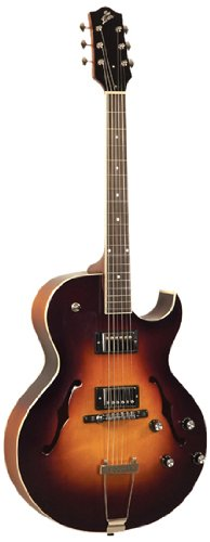 The Loar LH-280-CSN Archtop Cutaway Electric Guitar - Sunburst Double Cutaway Electric Bass