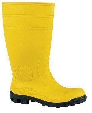 Bau-Sicherheitsstiefel, S5, Gr.47, gelb