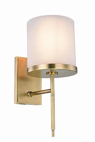 Elegant Lighting 1504W6BB Bradford Collection Wall Sconce W6