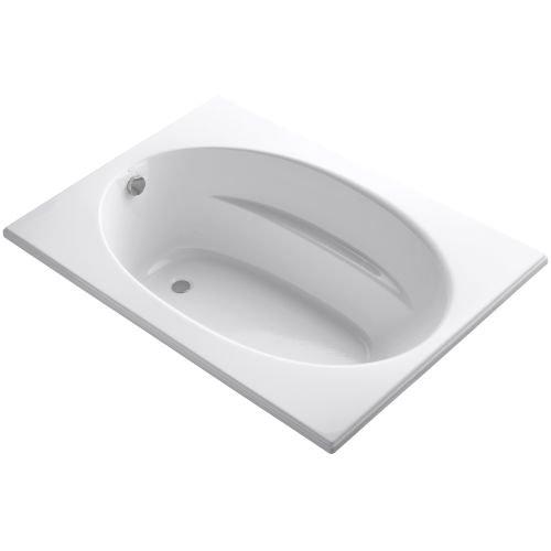 Acrylic Kohler Bathtub Corner (Kohler K-1113-0 Windward 5Ft Bath, White)