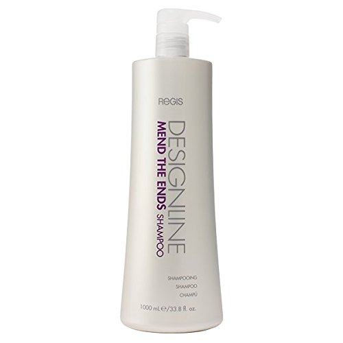 Mend The Ends Shampoo, 33.8 oz - Regis DESIGNLINE - Fortifies Hair to Reduce Future Breakage & Prevents Split Ends