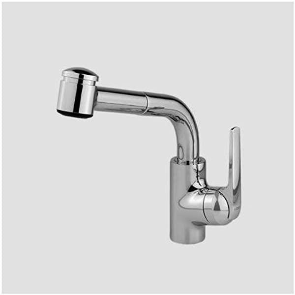 Kwc Faucets 10 061 003 127 Domo Pull Out Kitchen Faucet 9 Splendure Stainless Steel Amazon Com