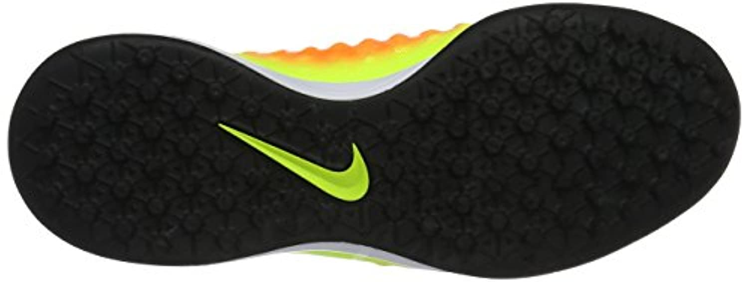Nike Unisex Kids Jr Magista Opus Ii Tf Football Boots, Multicolor (Volt/Total Orange/Clear Jade/Black), 5 UK 38 EU