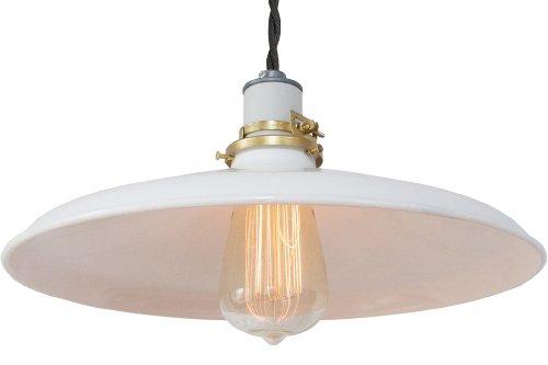 Vintage Industrial Enamel Pendant Lights in US - 5