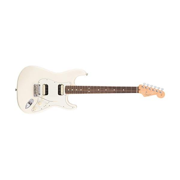 American Professional Stratocaster HH Shawbucker RW Olympic White