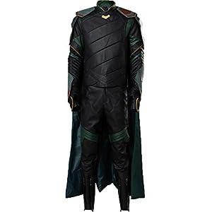 Cosplaysky Loki Costume Halloween Outfit (The Dark World/Ragnarok Version)