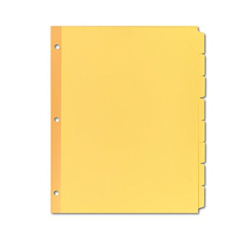 Avery Plain Write Dividers 11505