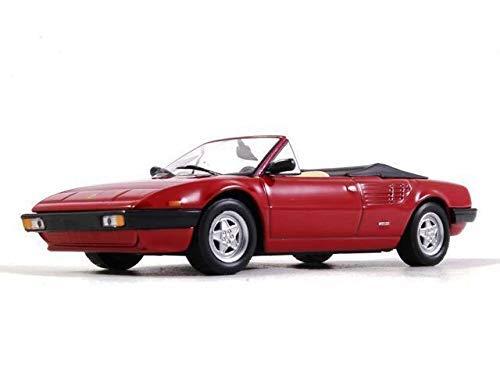 - Ferrari Mondial Cabriolet Red 1:43 Scale Diecast Model Sports Car 1980 Year